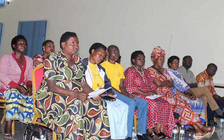 Stakeholders Review Meeting of activities performed in 2019 in both Rubavu & Musanze District