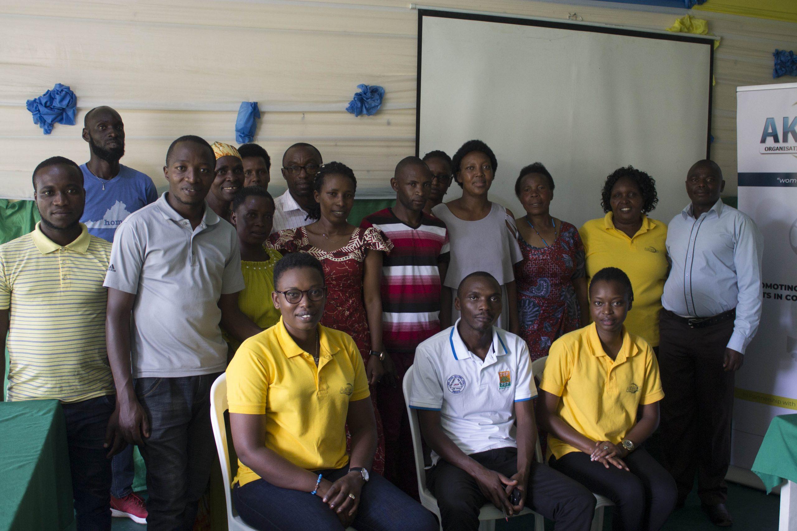 Kvinna Till Kvinna Visited beneficiaries from Bunyago Village