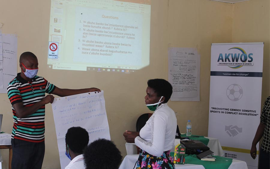 CAPACITY BUILDING WORKSHOP – Peace building, Conflict resolution, gender equality, football and leadership & storytelling