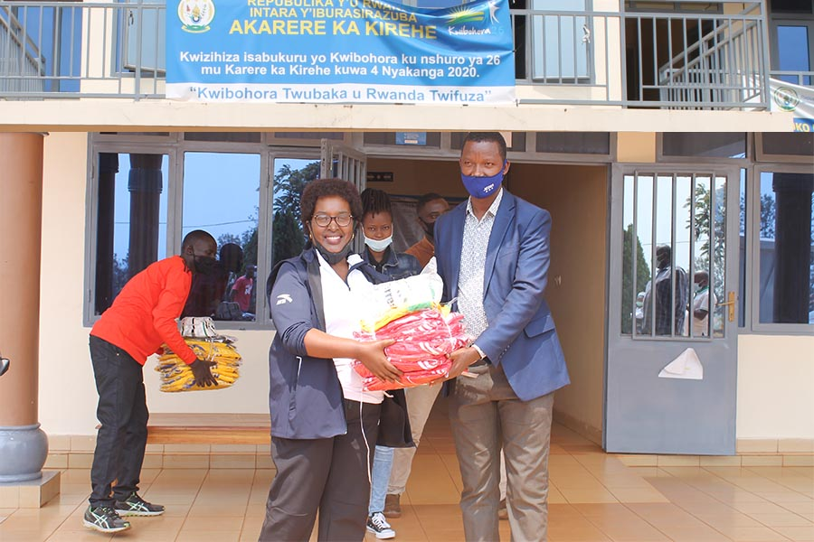 Capacity building workshop to train youth specifically teen mothers in Kirehe District
