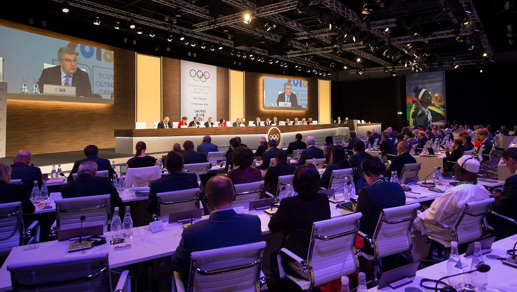 IOC SESSION ELECTS NINE NEW MEMBERS